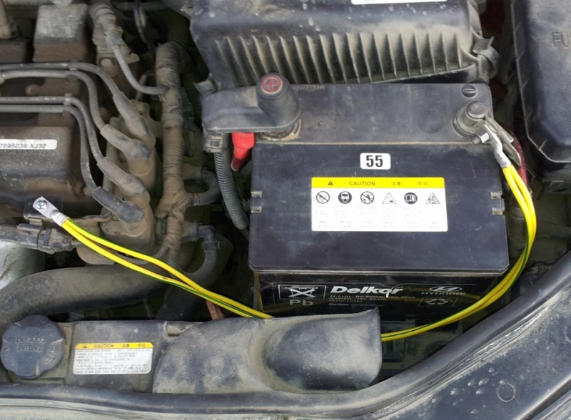 Аккумулятор для Hyundai Getz (Хенде Гетц, Хундай Гетц)
